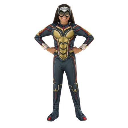 Marvel Ant-Man & The Wasp Girls Wasp Halloween Costume](Avengers Costumes For Girls)