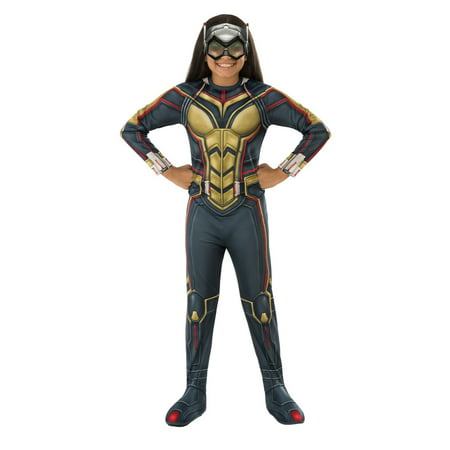 Marvel Ant-Man & The Wasp Girls Wasp Halloween - Girls Marvel Costume