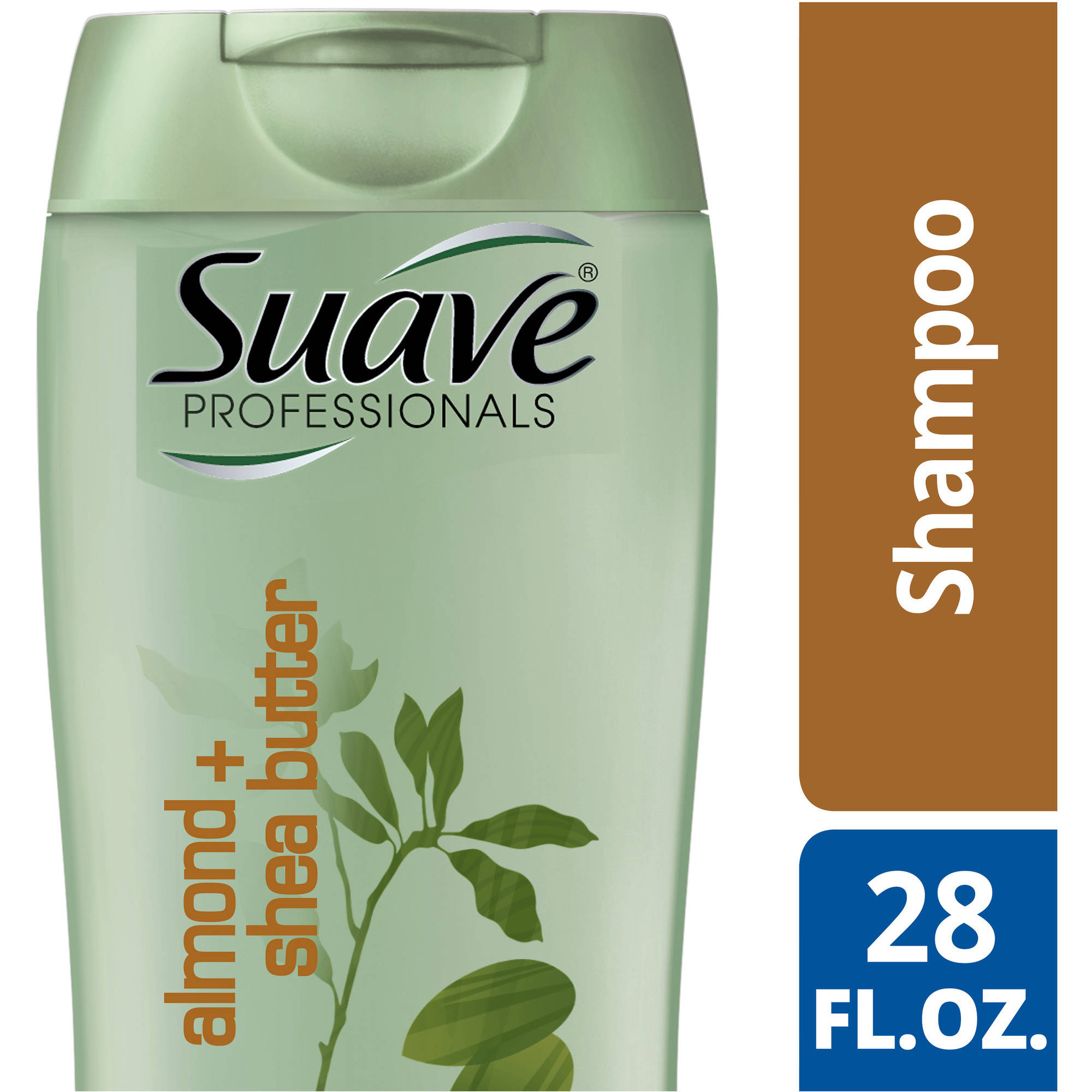 Suave Professionals Almond and Shea Butter Shampoo, 28 oz