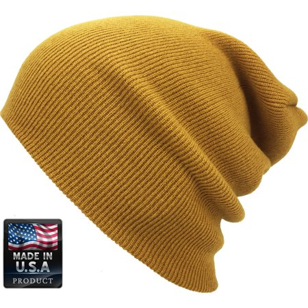 Plain Skully High Quality Made in USA Winter Beanie Hat - Walmart.com f1782779ccd
