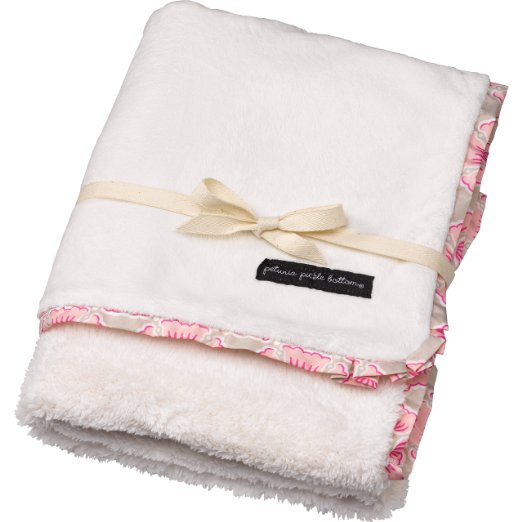 Petunia Pickle Bottom Receiving Blanket, Blooming Brixham by Petunia Pickle Bottom