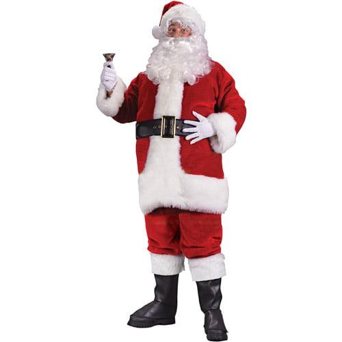 Plush Regency Christmas Santa Suit