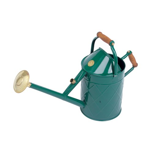 Haws Watering Cans Haws Metal Heritage Burgundy Watering Can 8.8 ltr, 2.4 US gallons by HAWS CORPORATION