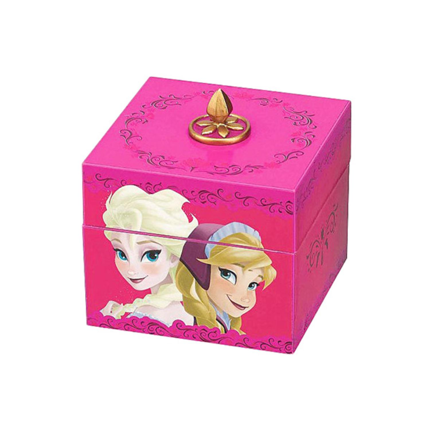 Mr. Christmas Disney Frozen Anna and Elsa Musical Keepsake Box with Pendant Necklace #11884