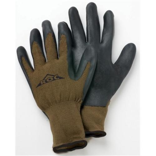 Magid Glove Extra Large Mens Bamboo The Roc  Knit With Nitrile Gloves  ROC40TX - Pack of 6