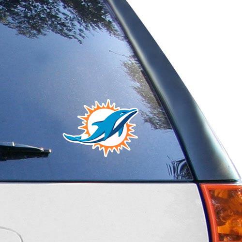 "Miami Dolphins WinCraft Logo 5"" x 7"" Decal - No Size"
