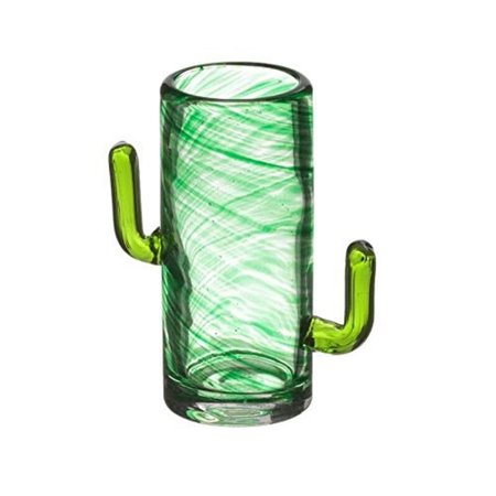 Bar Originale The Mixology Collection CACTUS Shot Schnapps Glasses Glass Set of 4 1.7