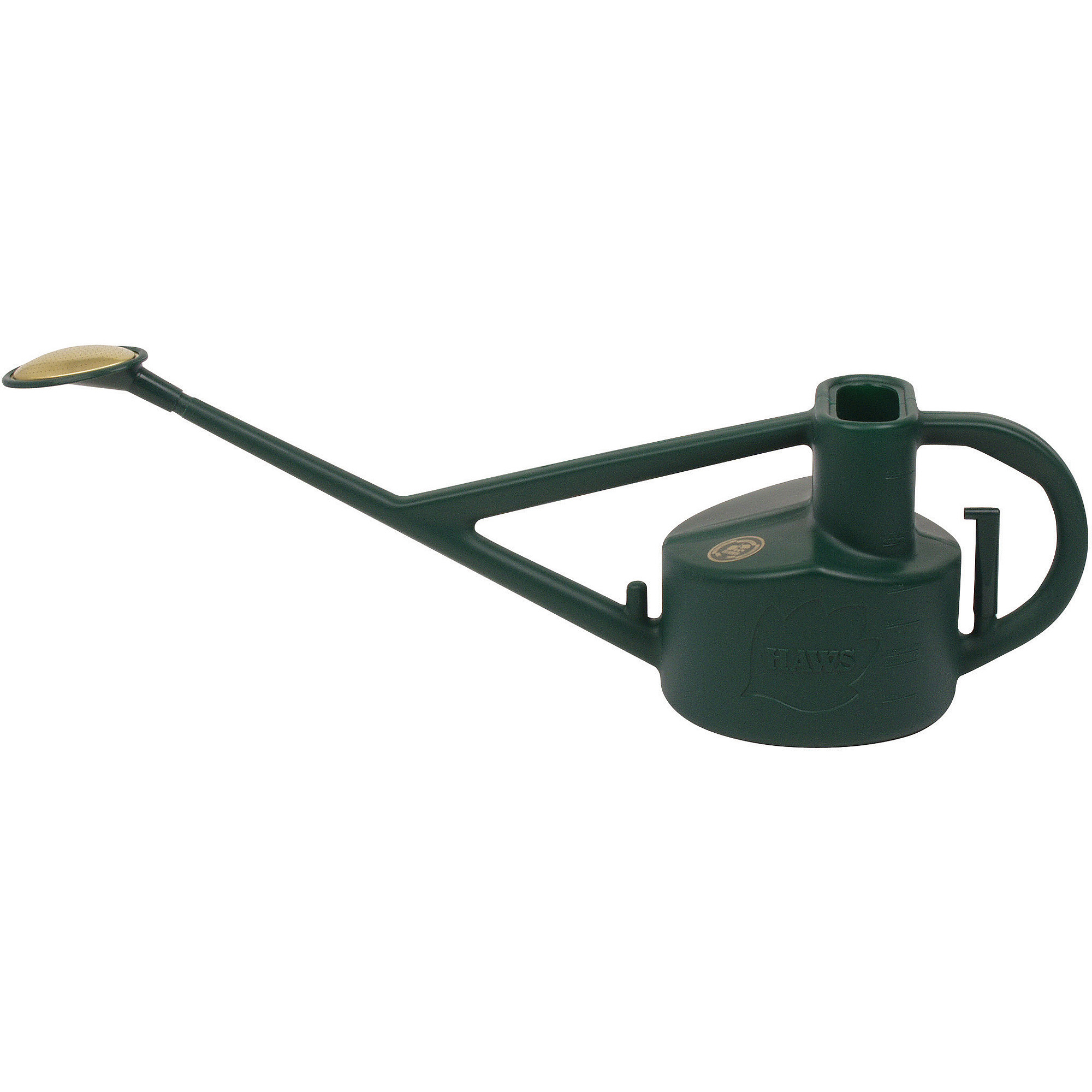 Haws Longreach 1.3 gal Outdoor Plastic Watering Can, Green V115 by Bosmere