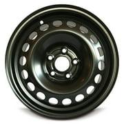 "Road Ready 15"" Steel Wheel Rim 2006-2016 Volkswagen Jetta 15x6 inch Black 5 Lug"