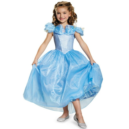 Cinderella Movie Prestige Girls Child Halloween - Prestige Cinderella Costume