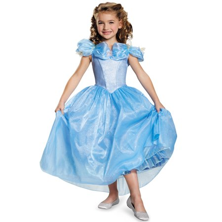 Cinderella Movie Prestige Girls Child Halloween Costume](Halloween Cinderella)