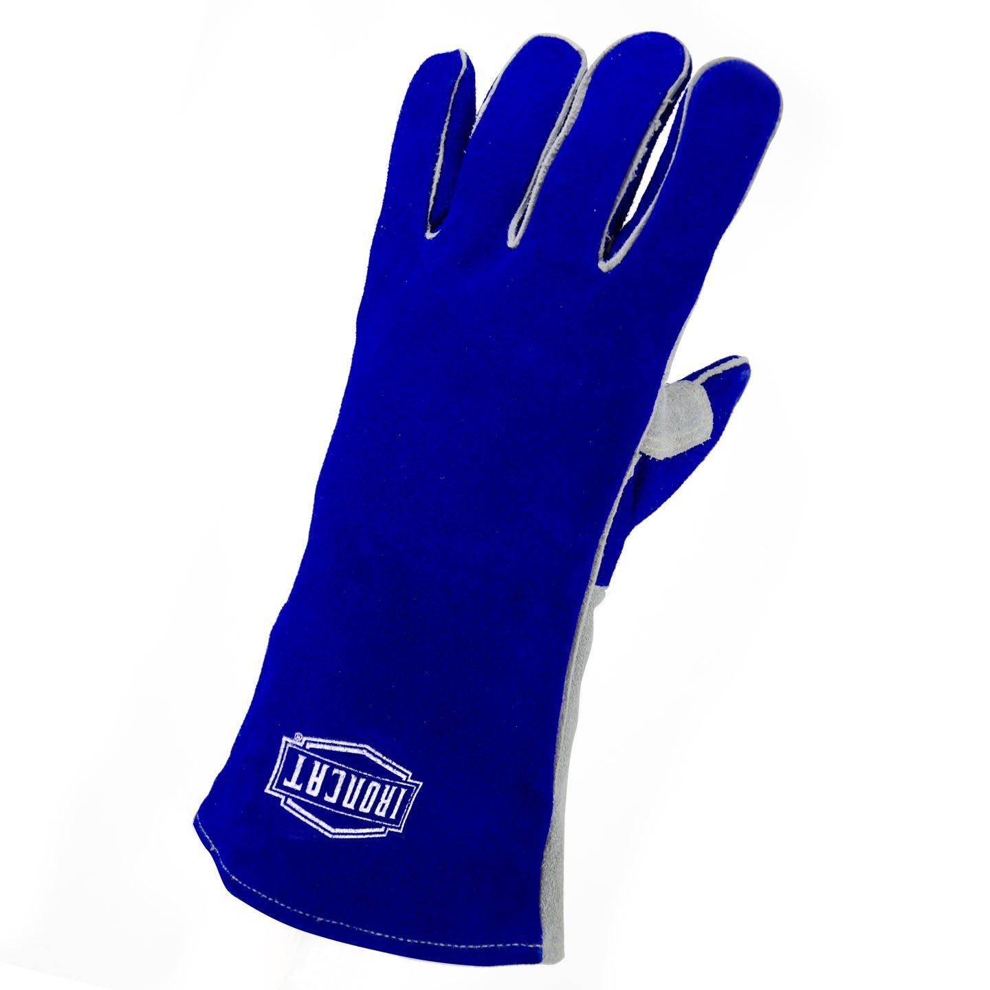 IRONCAT 9051 LHO Insulated Premium Side Split Cowhide Welding Gloves, Large (Left Hand Only)