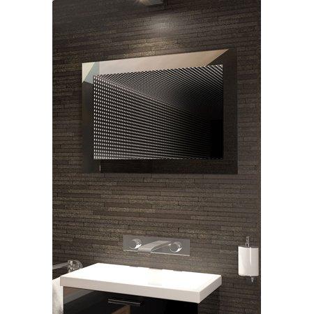 Perfect Reflection Rgb LED Bathroom Infinity Mirror K215Lrgb (Led Infinity)
