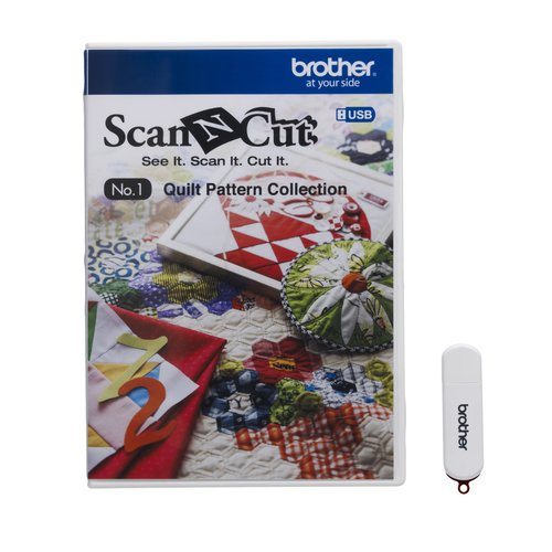 Brother ScanNCut USB No. 1 Quilt Pattern Collection
