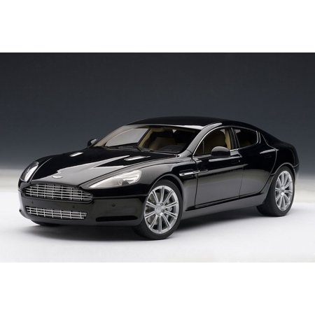 aston martin rapide black 1/18 diecast model car by autoart