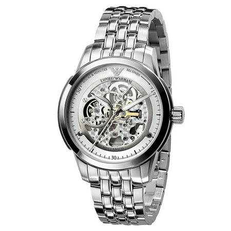 53a2a1f67 Emporio Armani - Emporio Armani Meccanico Automatic Mens Luxury Watch  AR4626 - Walmart.com