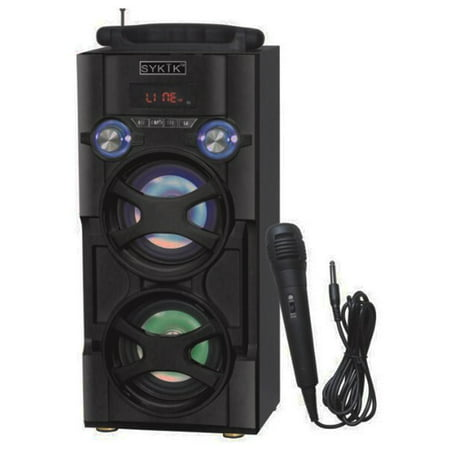 Sykik BT Karaoke, PA System Tower Speaker