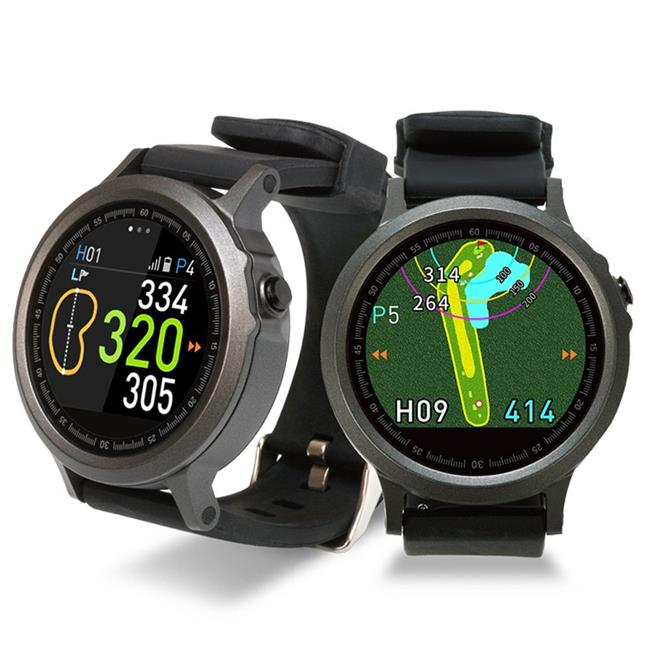 GolfBuddy GB9-WTX WTX Touchscreen Golf GPS Smartwatch, Black