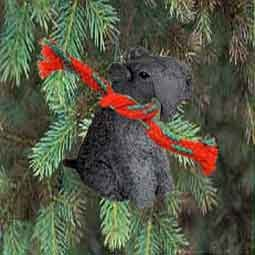 Kerry Blue Terrier Miniature Dog Ornament ()