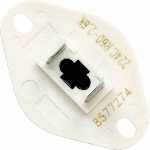 Whirlpool Dryer Thermistor, White