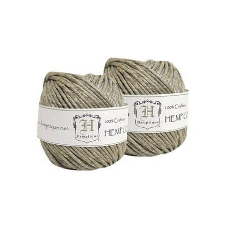 Hemptique - Hemp Cord Balls - Natural - 170 lb./210 ft.