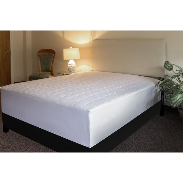Assure Sleep Quilted Mattress Pad Cover, TWIN XL SIZE ...