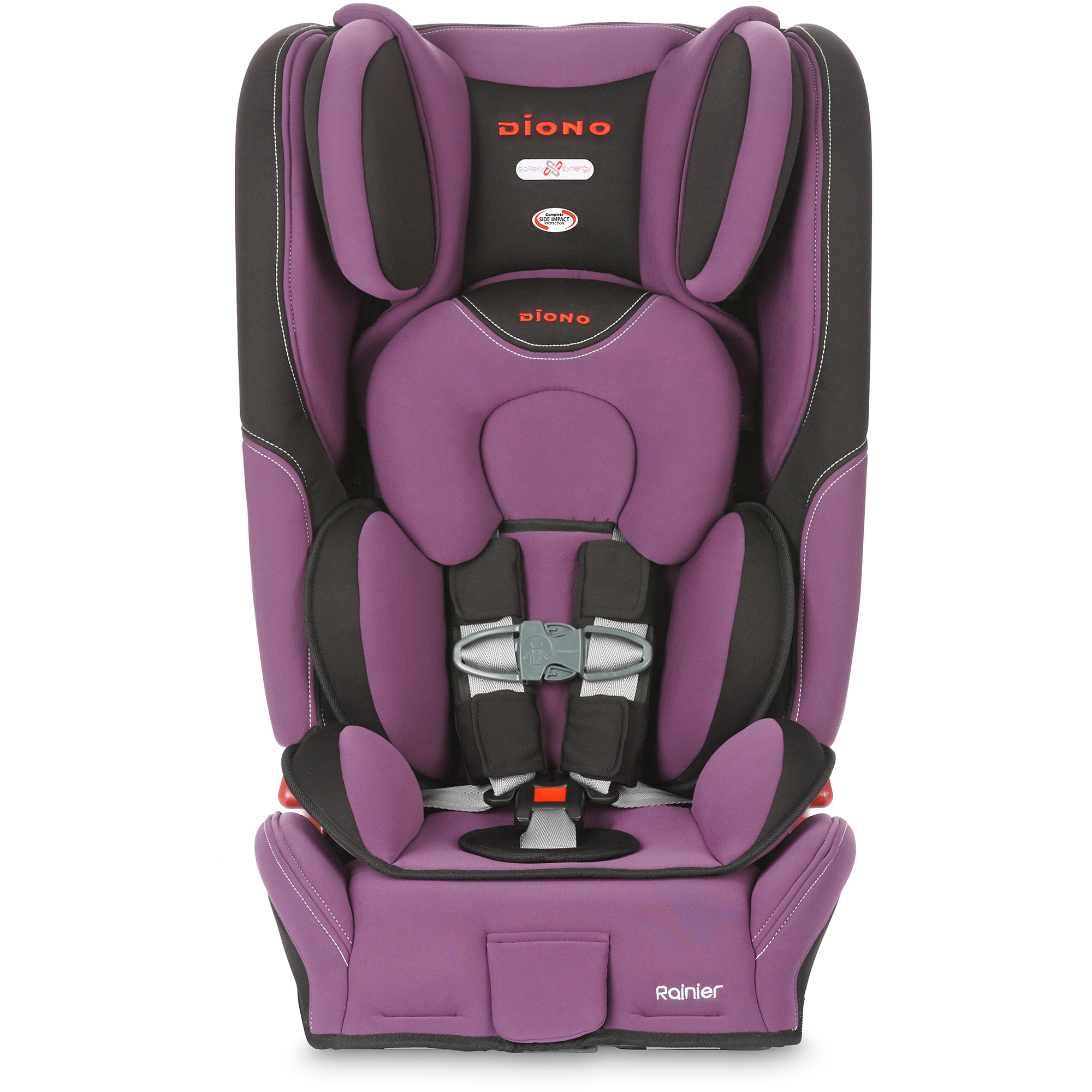 Diono Rainier Convertible Car Seat plus Booster with Adjustable Head Support