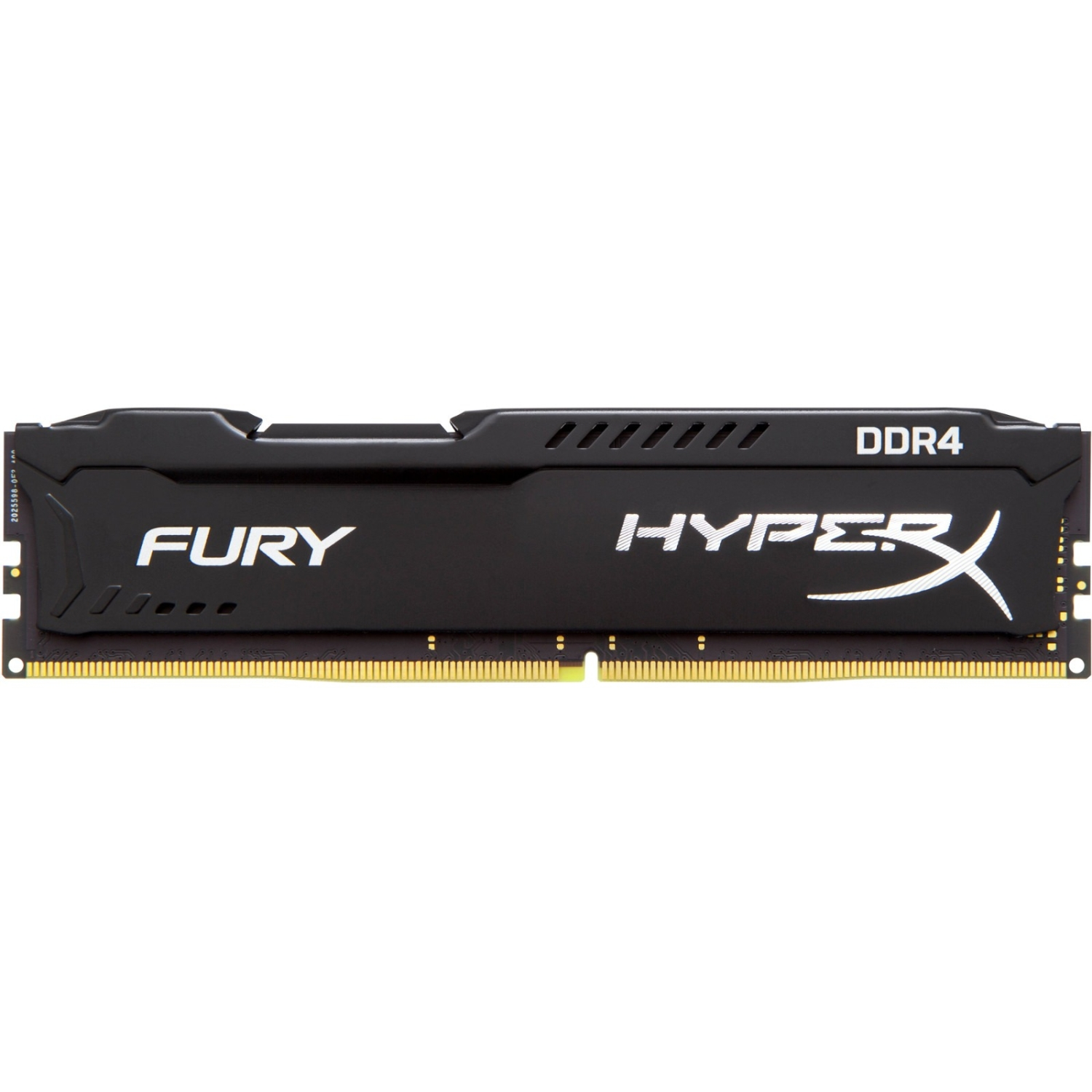 Kingston FURY Memory Black - 64GB Kit (4x16GB) - DDR4 2400MHz CL15 DIMM - 64 GB (4 x 16 GB) - DDR4 SDRAM - 2400 MHz -