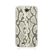 For Samsung Galaxy Note 2 Case, by Insten Snake Skin Rubberized Hard Snap-in Case Cover For Samsung Galaxy Note II