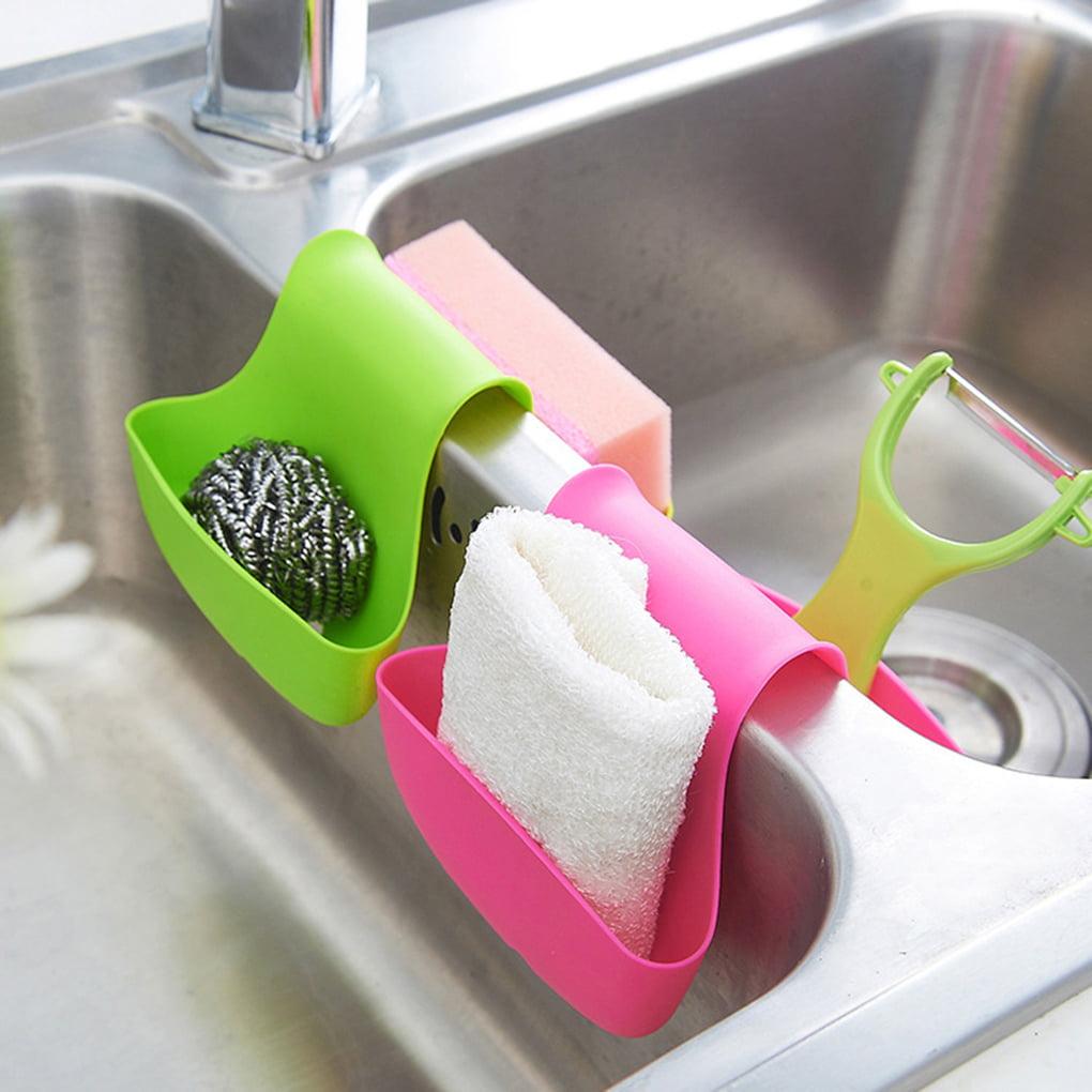 Two Sided Kitchen Sink Sponge Holder