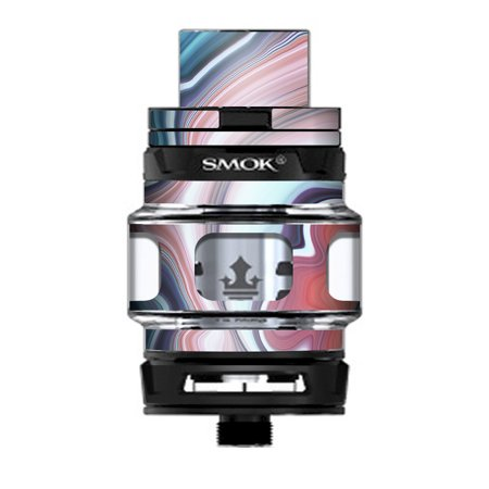 Skin Decal Vinyl Wrap for Smok TFV12 Prince Tank Vape Kit skins stickers cover / Geode Stone Rock Swirl