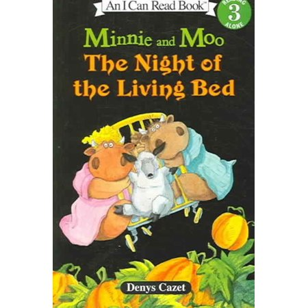 Minnie and Moo the Night of the Living Bed with CD [With 4 Paperback Books] - Afi Halloween Live