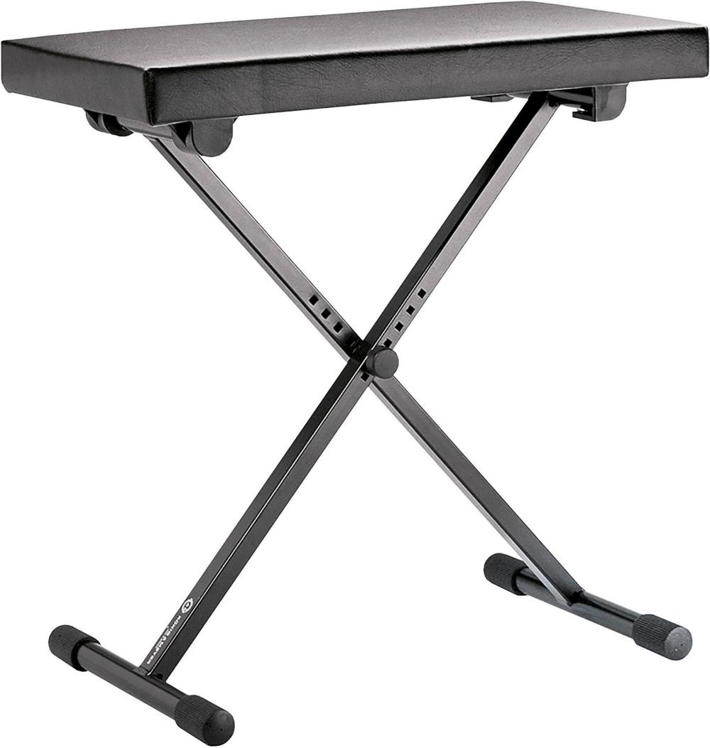 K&M K 14065.000.55 Keyboard Bench Leather