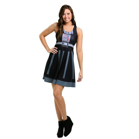Star Wars Darth Vader A-Line Dress - Hers And Hers Halloween Costumes