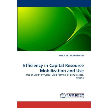 Efficiency In Capital Resource Mobilization And Use