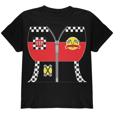 Halloween Hot Rod Costume Racing Youth T Shirt