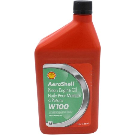 Aeroshell Aviation Oil W100 SAE 50 QT