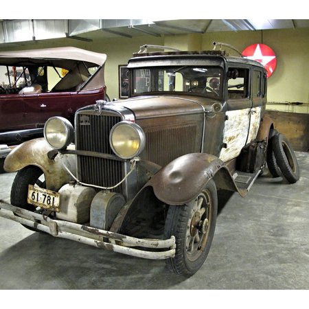 LAMINATED POSTER Antique Car Museum Unrestored Canada Poster Print 11 x 17