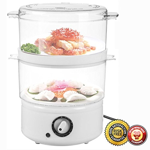 New MTN-G Electric Kitchen Food Steamer Steaming Bowl Coo...