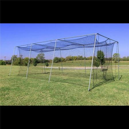 Cimarron 30X12X10 #24 Batting Cage & Complete Frame Hd