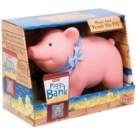 - Schylling Rubber Piggy Bank