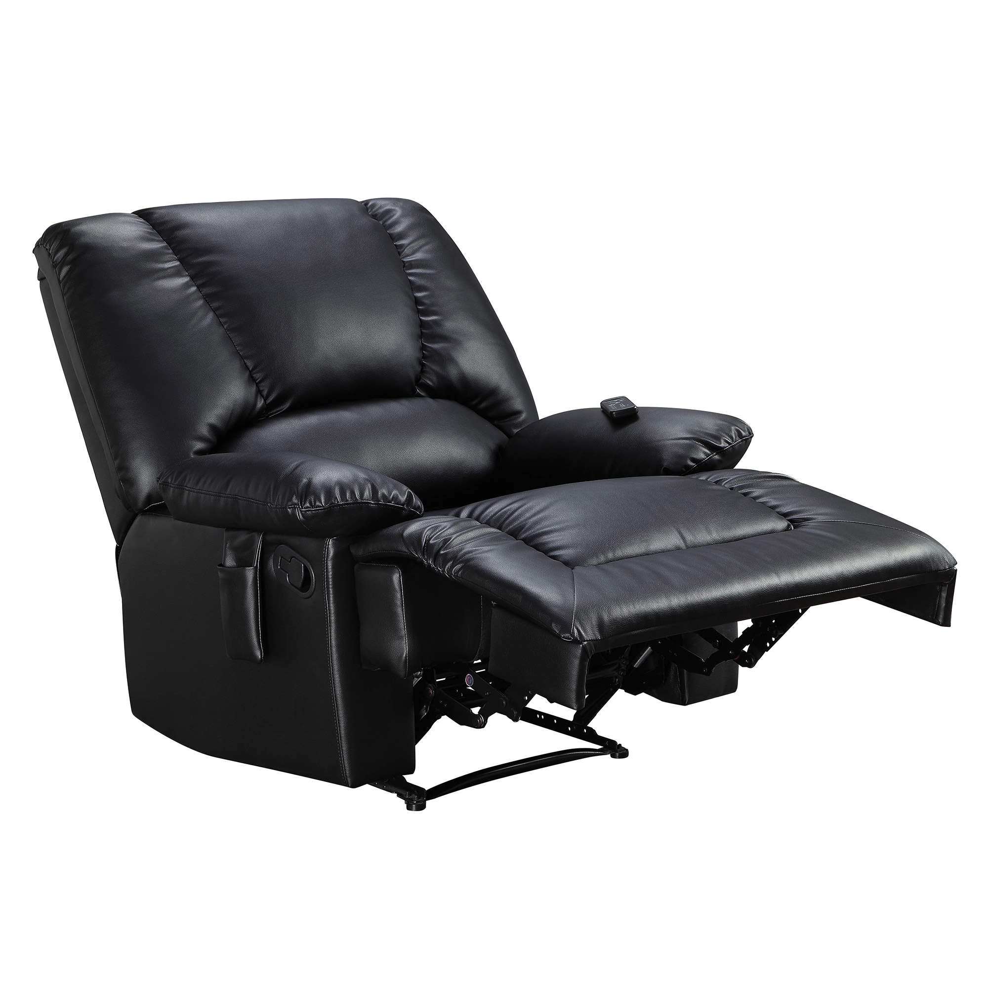 bonded classic ip single com walmart serta oversize seat recliner and overstuffed chair leather