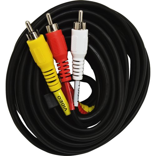 6' Audio/Video Cable, Black