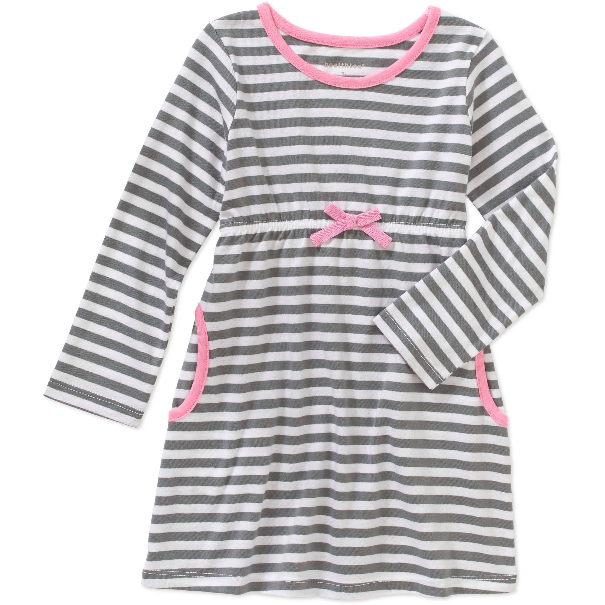 Healthtex Baby Toddler Girl Knit Long Sleeve Dress