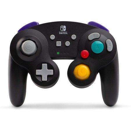 PowerA Wireless Controller for Nintendo Switch - GameCube Style: Black (1507451-01)