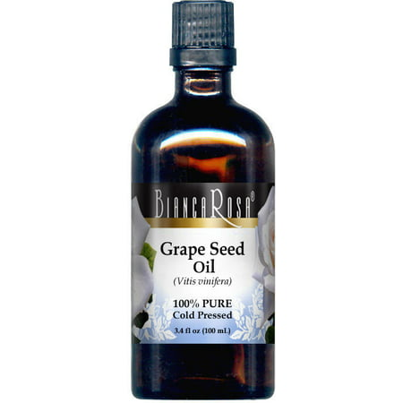 Grape Seed Oil - 100% Pure (3.40 fl oz, ZIN: 428135) California Grape Seed Oil