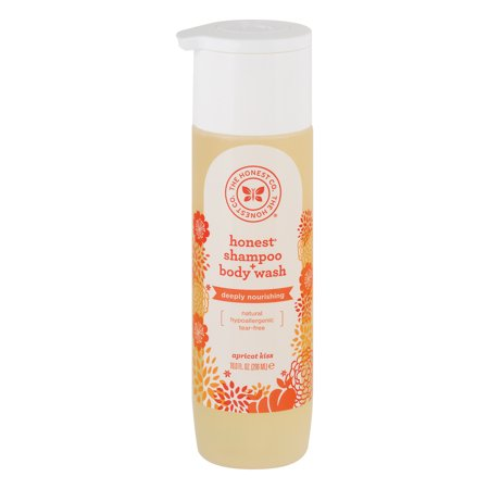The Honest Co  Honest Shampoo   Body Wash Apricot Kiss  10 0 Fl Oz