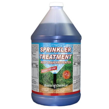 Sprinkler Treatment Rust Stain Preventor - 1 gallon (128