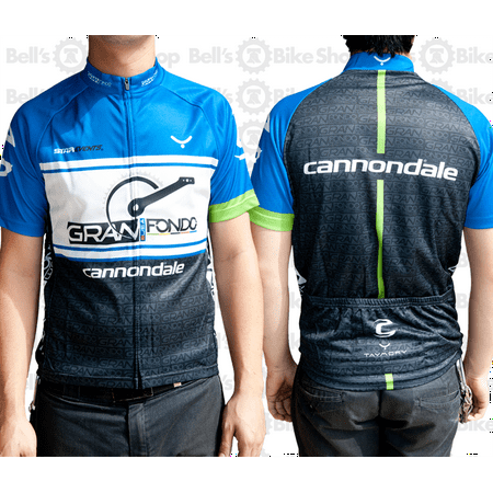 Taymory Bicycle Gran Fondo USA Cannondale Cycling Jersey Vail Large USA / XL - Power Cycling Jersey