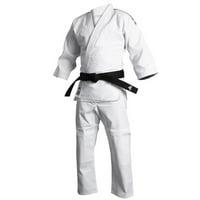 adidas Judo / Jiu-Jitsu Student Gi with Belt, White